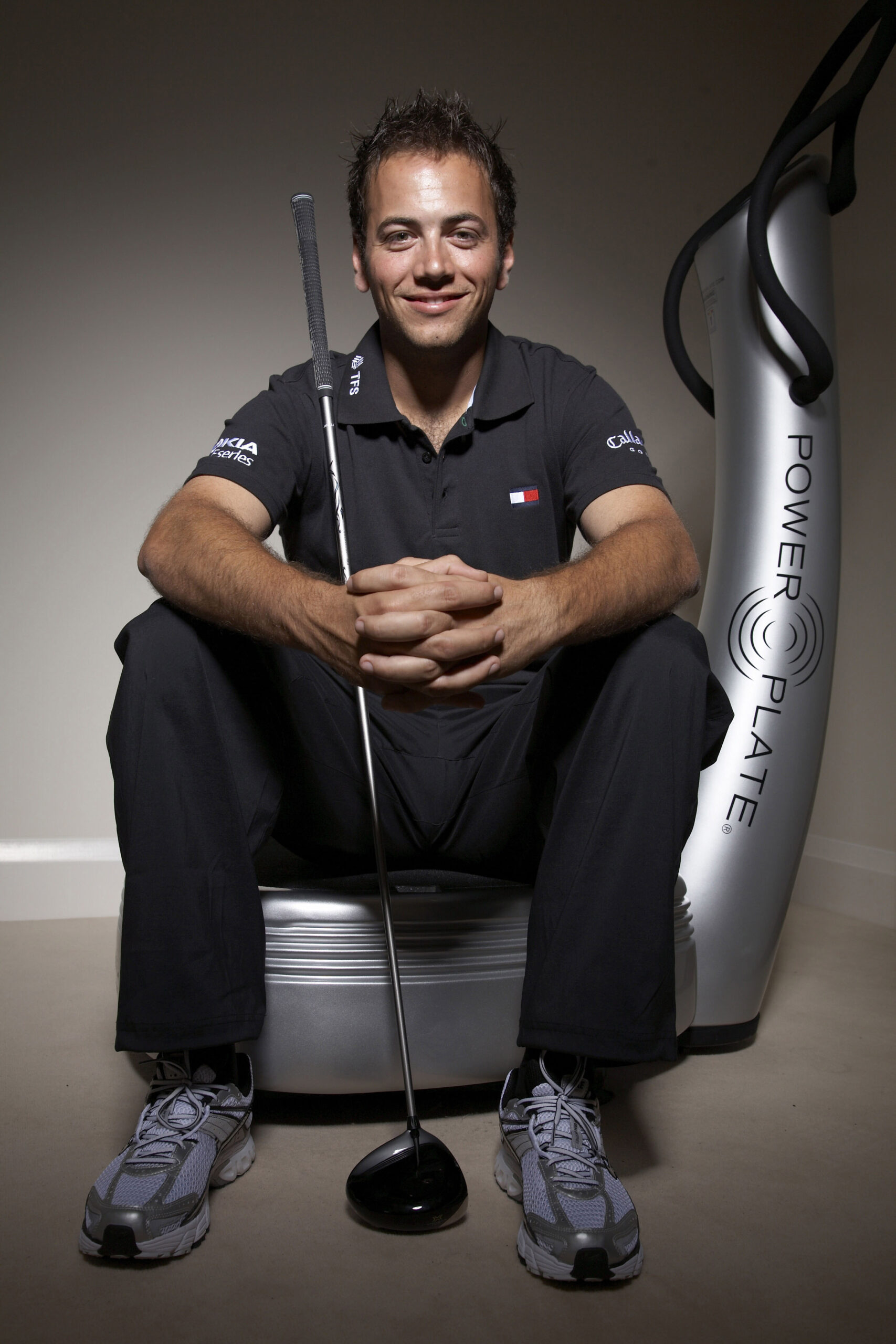PowerPlate Golfer Nick