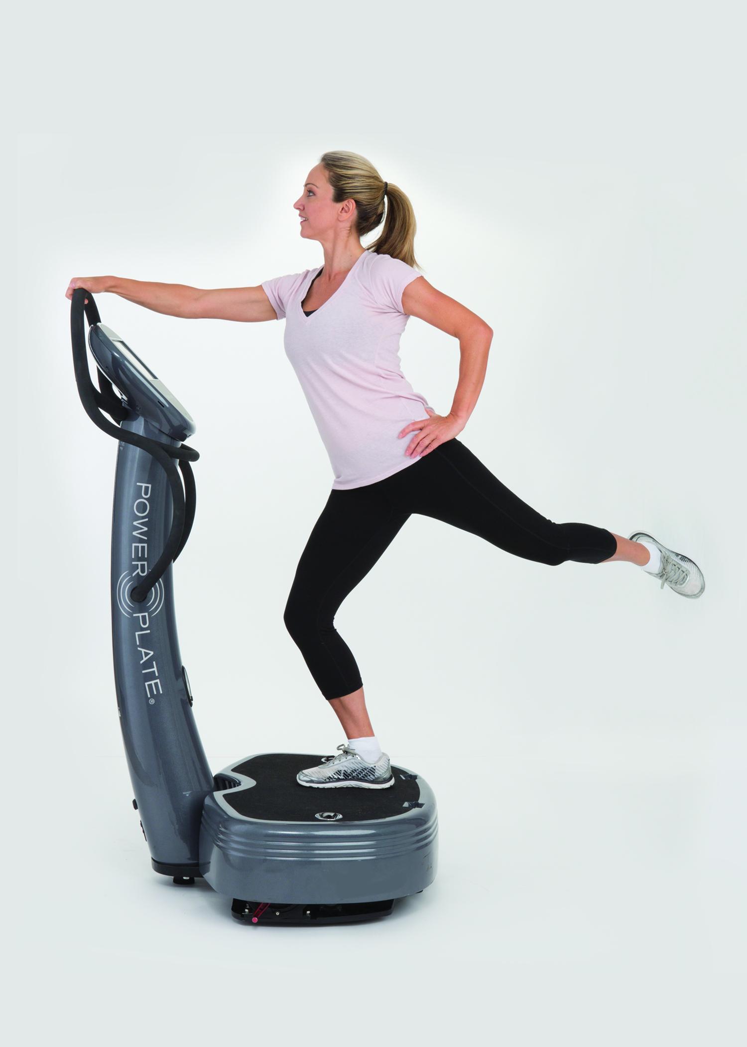 PowerPlate balans-övning